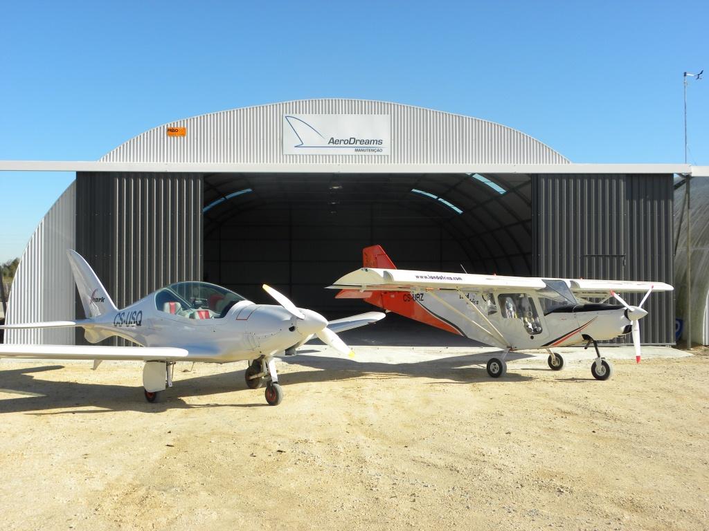 O nosso hangar